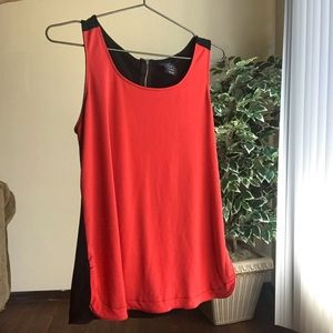 Two color tank top size medium